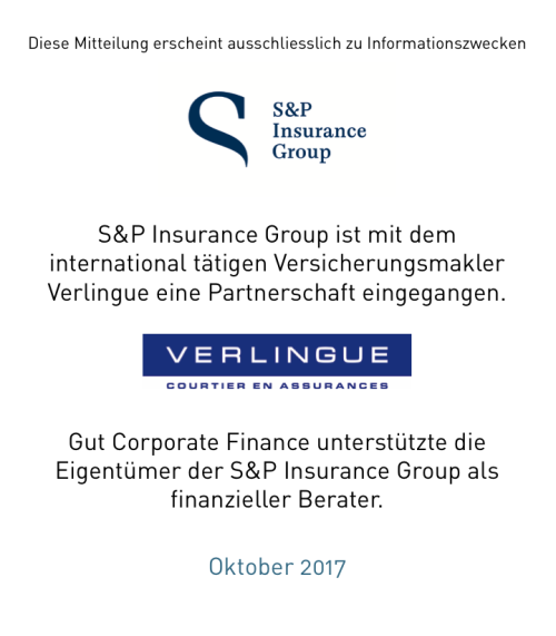 S&P Insurance Group geht Partnerschaft ein